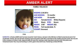 Amber Alert canceled for 10-month-old Florida girl
