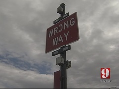 Wrong way detection system expanding