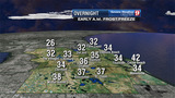 Cold night, morning in store for Central Florida