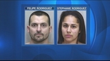 Couple arrested after heroin, cash found during traffic stop