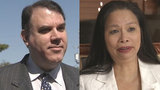 How did Alan Grayson's wife get approved for public assistance?
