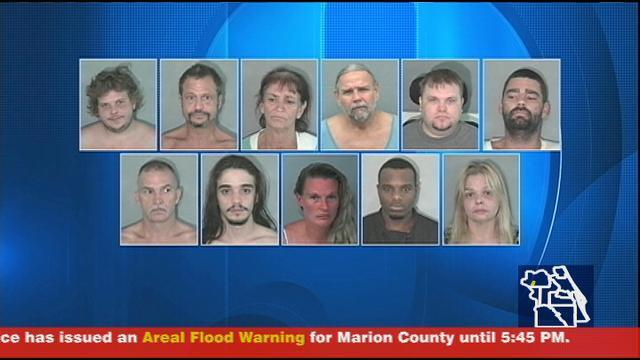 Nearly two dozen arrested in Sumter County drug sting | WFTV