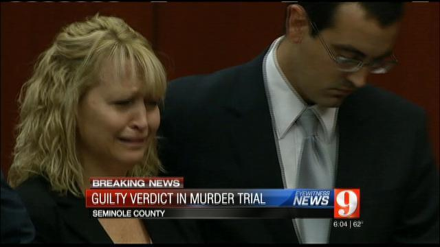 Guilty verdict for Oviedo woman accused of killing husband