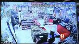 Gas station clerk opens fire on armed robbers in Daytona Beach