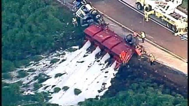 Driver killed in Winter Garden overturned truck crash | WFTV