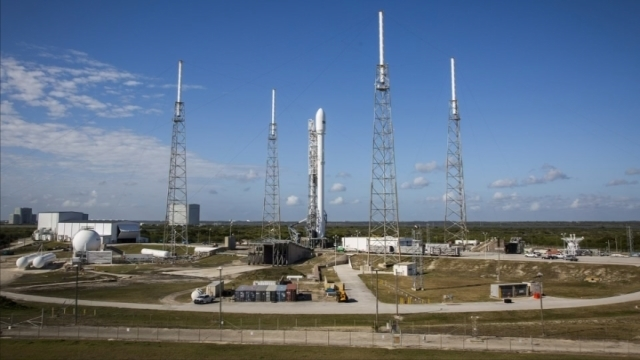 SpaceX Falcon 9 set for fourth launch attempt