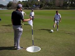Justin Rose plays FootGolf with Orlando City SC to benefit local community
