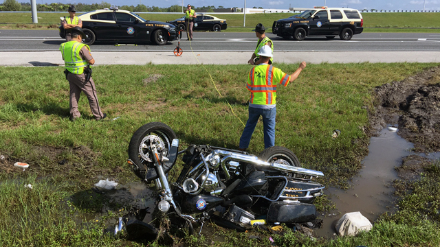 FHP investigates if 'death wobble' caused trooper's motorcycle crash