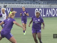 Orlando Pride pick up first win in front of record crowd