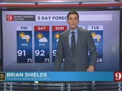 5-Day Forecast 4-29