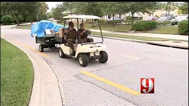 Seminole residents speak out against UPS golf cart delivery pods   on