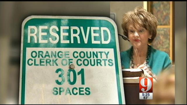 9 Investigates: Orange County Clerk of Courts employees benefit from  parking deal