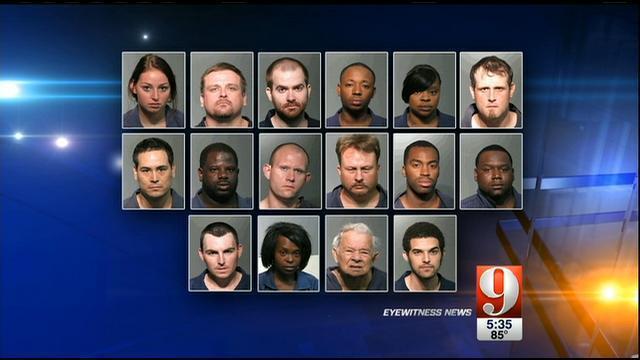 Seminole investigators arrest 19 in drug trafficking