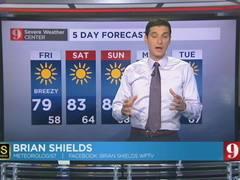 5-Day Forecast - 05/06/16