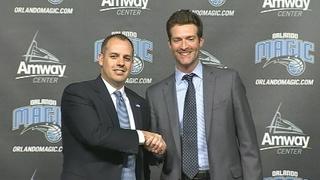 Magic formally introduce Frank Vogel as their new coach