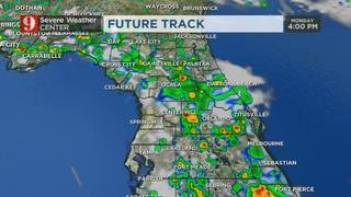 Day #2 of scattered afternoon storms