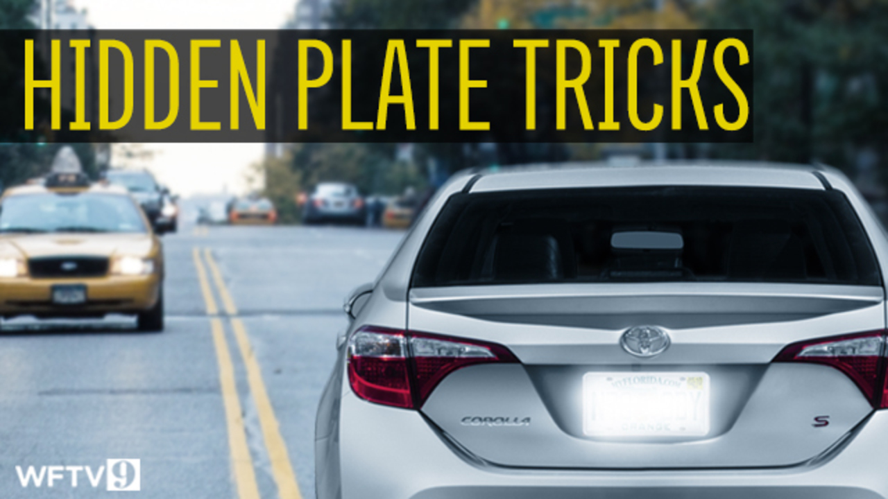 9 Investigates new ways drivers are hiding license plates | WFTV