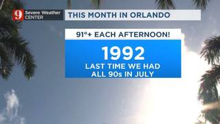This July: 90s every day?