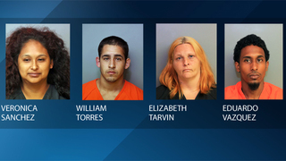 4 arrested after stun gun used to 'discipline