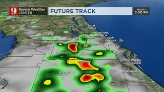 Friday Evening Storms