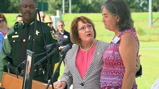 Orange County officials open park in slain deputy