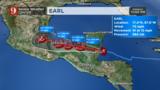 Huracán Earl a punto de entrar a Belice; inundaciones y deslaves de…
