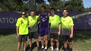 Orlando City welcomes Special Olympics athletes to training