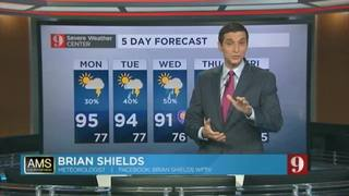 5-day forecast for Aug. 22