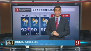 5-day forecast for Aug. 24