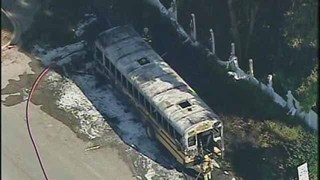 Orange County school bus fire blamed on electrical shorting, report says