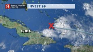 Friday morning tropics update