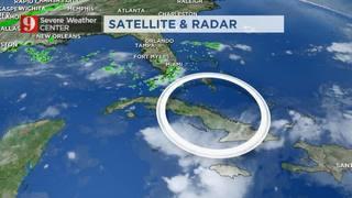 Tropical disturbance weakens