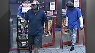 Police: Shoeless robber flees on foot