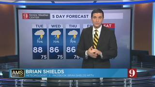 5-day forecast for Aug. 30