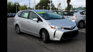 Get to know the family-friendly 2017 Toyota Prius v