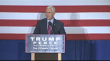 Gov. Mike Pence stumps for Trump in The Villages