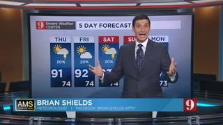 5-Day Forecast  9-22-16