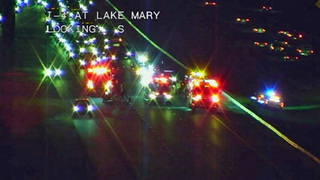 EB I-4 reopens after crash in Lake Mary