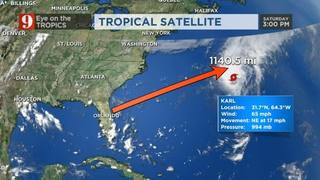 Eye on the Tropics - Saturday Evening