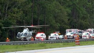 Parents killed, children injured in crash on I-4 near DeLand