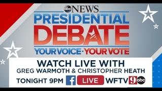 WATCH: Live Stream of Previously Held Presidential Debates