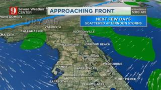 Waiting for the first fall cool front