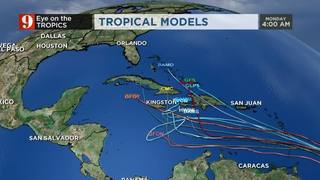 Eye On The Tropics: Soon-To-Be Matthew