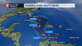 Hurricane Matthew moves slowly to the Central Caribbean; will continue…
