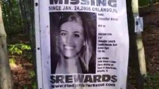 Poster Of Orlando Woman Discovered In Bizarre New York