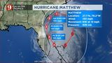 Tracking Matthew: Thursday Timeline