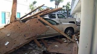 Photos: Hurricane Matthew damage in Daytona Beach