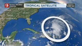 Tropical Disturbance Near The Bahamas