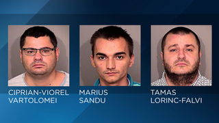 3 men charged with installing
