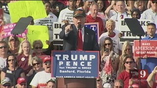Trump during Sanford rally: 1st act in White House would repeal Obamacare